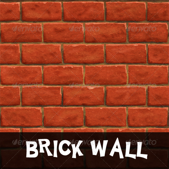 Tileable Brick Wall Texture - 3DOcean Item for Sale