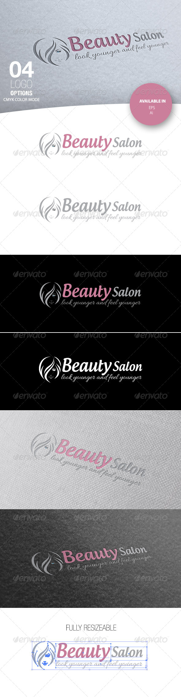 GraphicRiver Beauty Salon Logo 4883622