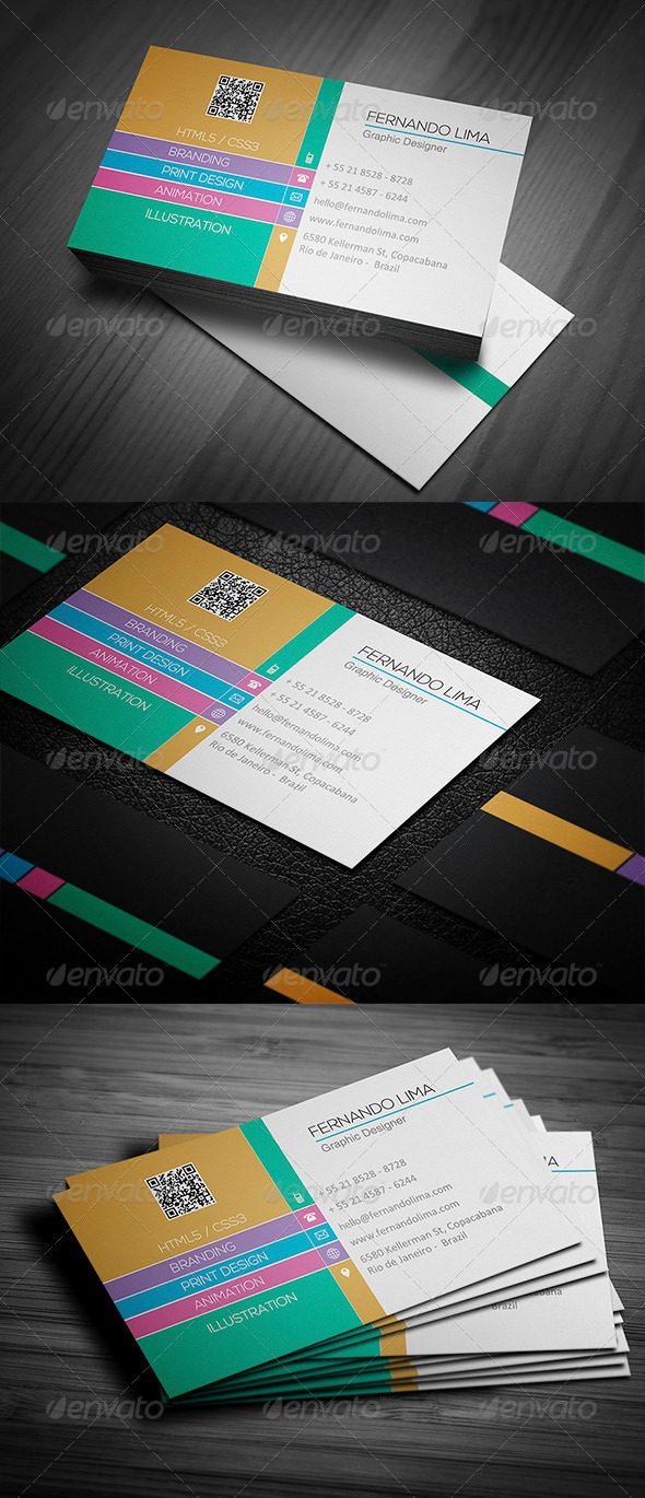 GraphicRiver Creative Business Card 004 4883732