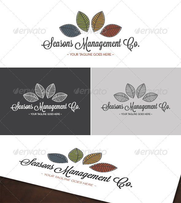 GraphicRiver Seasons Management Co Logo 4884460