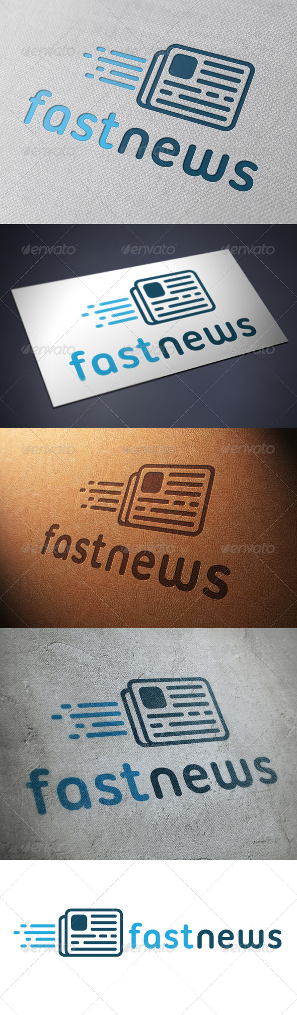 GraphicRiver News Logo Template 4884713