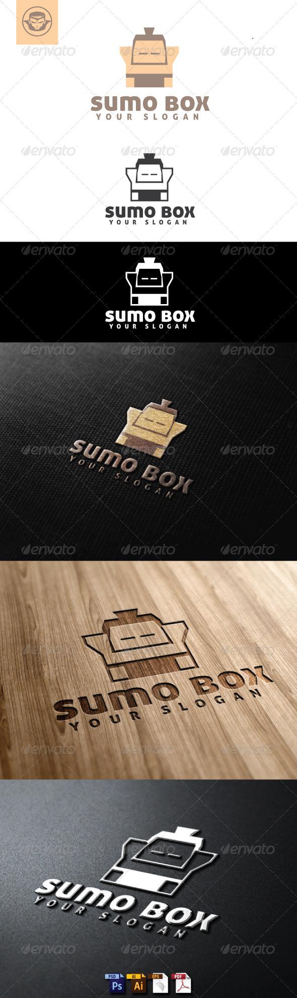 GraphicRiver Sumo Box Logo Template 4884836