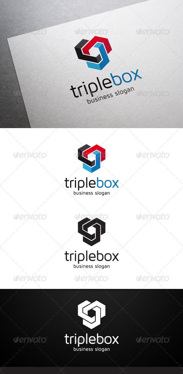 GraphicRiver Triple Box Logo 4884864