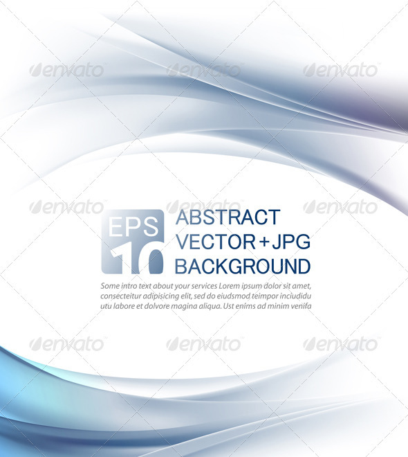 Abstract business background - Vector + jpg - Backgrounds Business