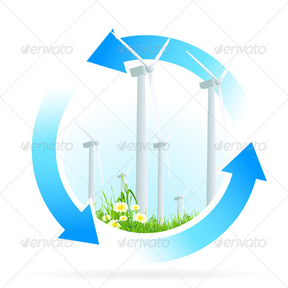 Renewable Energy Icon - Concepts Business