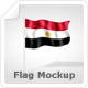 Flag Mock-Up - GraphicRiver Item for Sale