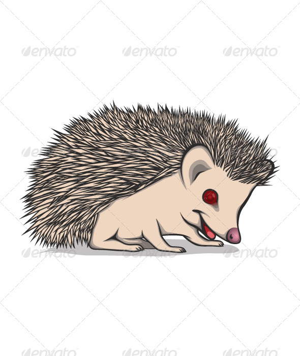 GraphicRiver Little Hedgehog 4876147