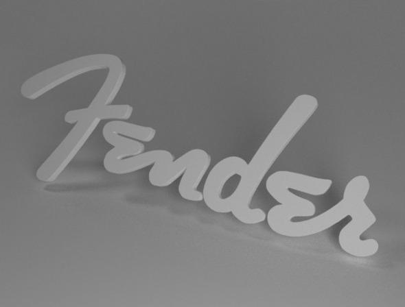 3DOcean Fender Logo 4885993