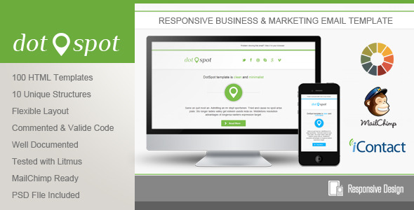 DotSpot - Responsive Email Template