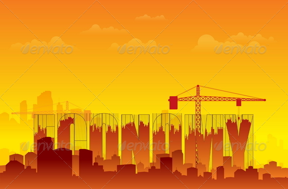 GraphicRiver Rebuilding Economy 4887420