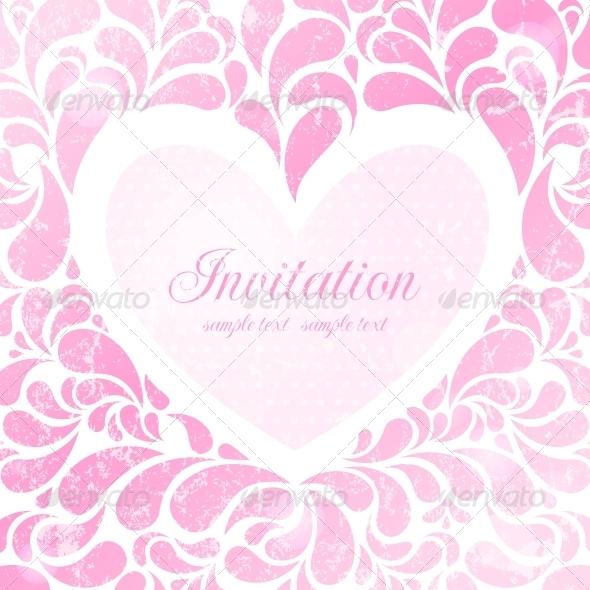 GraphicRiver Wedding Invitation 4887561