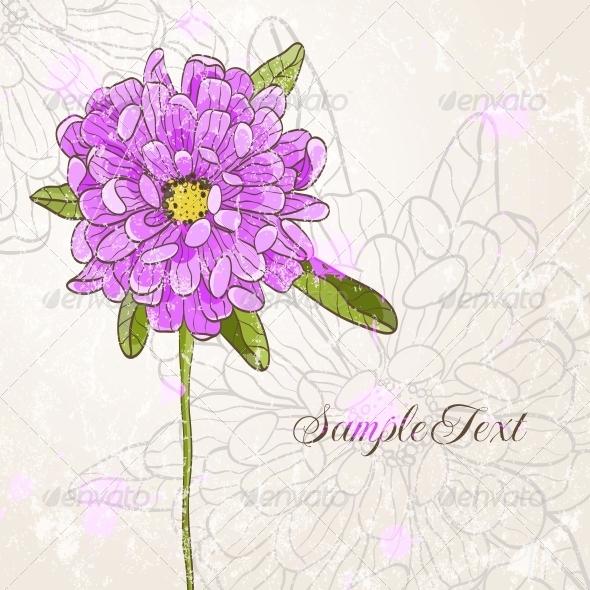 GraphicRiver Hand Drawn Flower 4887800