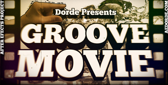 After Effects Project - VideoHive Groove Movie 505527