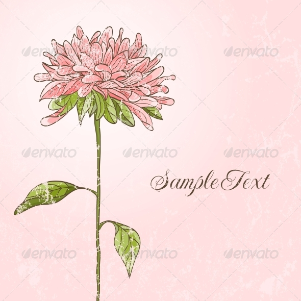 GraphicRiver Hand Drawn Flower 4887807