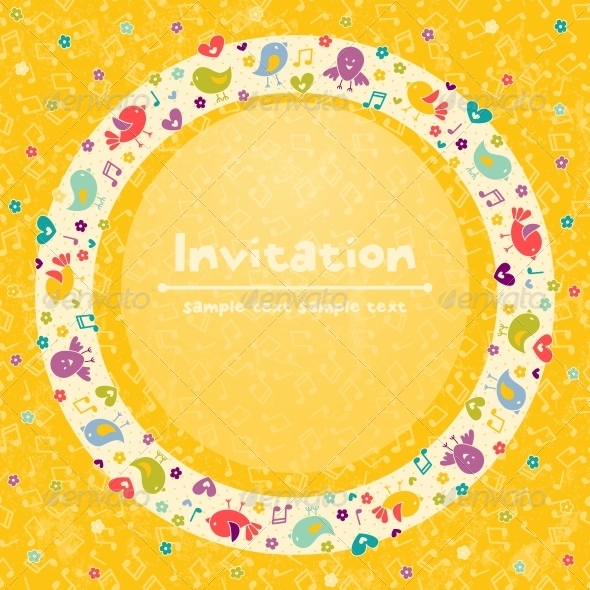 GraphicRiver Vector Greeting Card 4887815