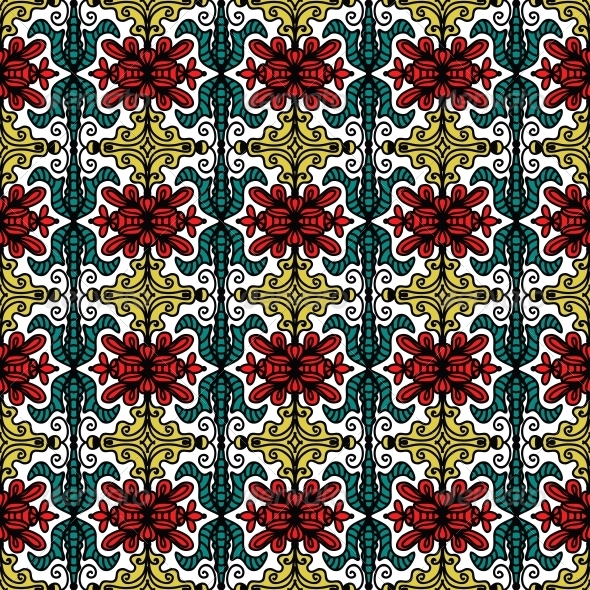 Ethnic embroidery patterns fixride