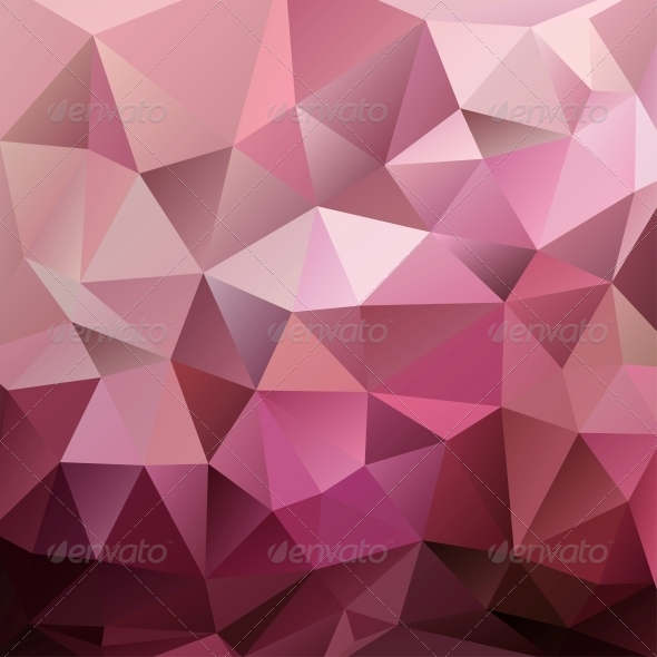 GraphicRiver Abstract Red Triangle Background 4888477