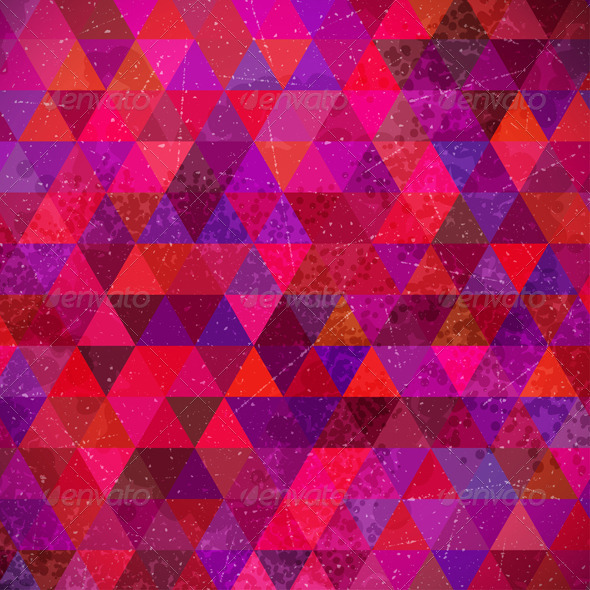 GraphicRiver Retro Triangles Background 4888549