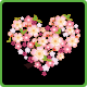 Cherry Blossom Heart - GraphicRiver Item for Sale