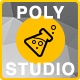 Polygon Background Studio - GraphicRiver Item for Sale