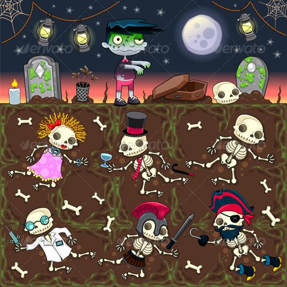 GraphicRiver Zombie Scene 4890925