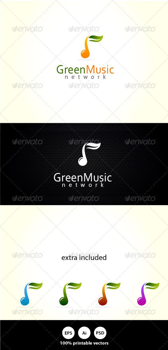 GraphicRiver Green Music 4891311