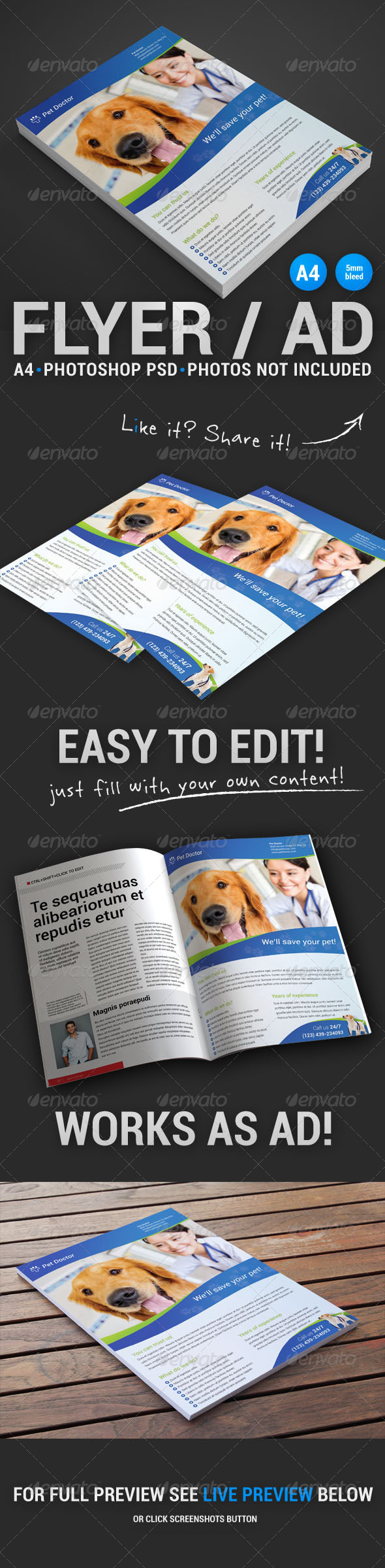 GraphicRiver Commerce Flyer 4 4891414