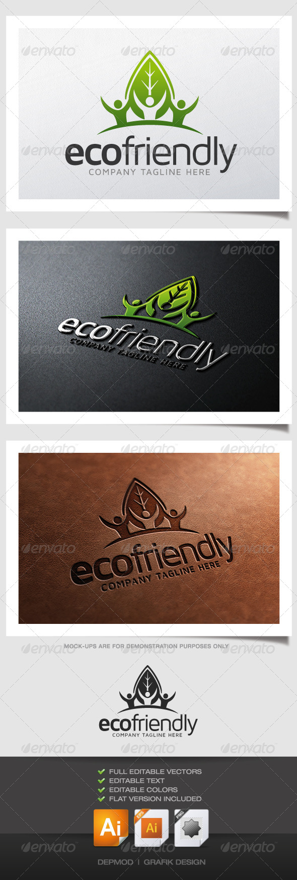 GraphicRiver Eco Friendly Logo 4891567