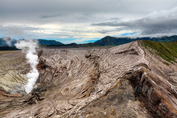 Bromo crater - Stock Photo - Images