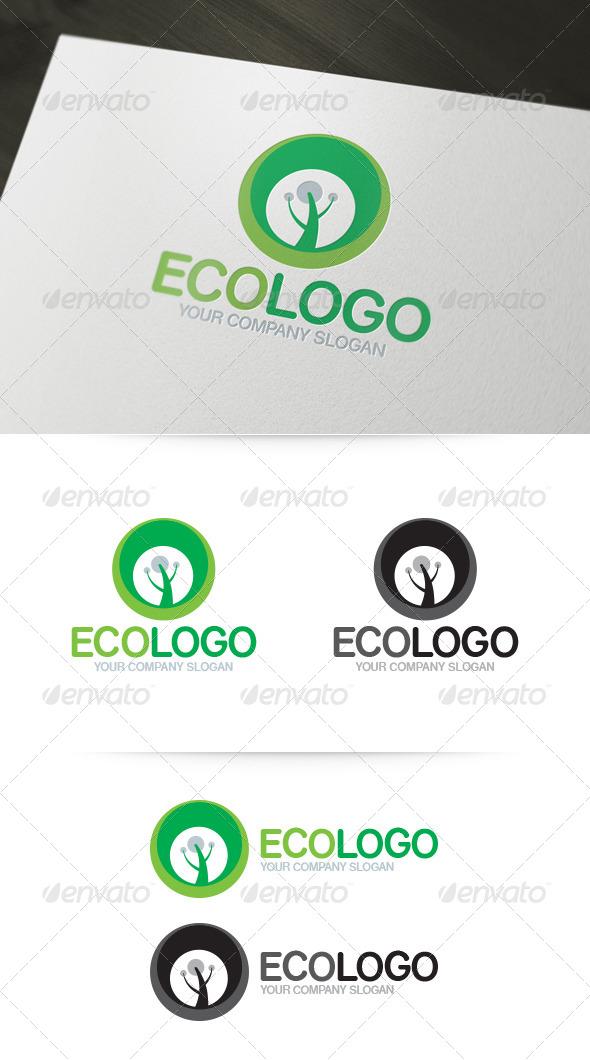 GraphicRiver Eco Logo 4891991