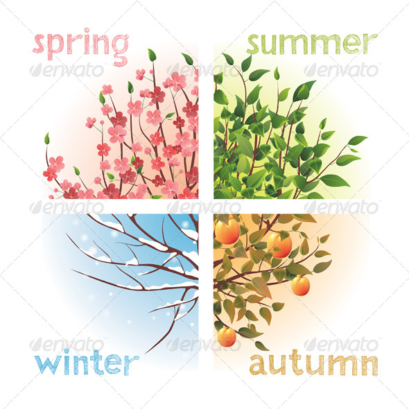GraphicRiver Seasons 4892018