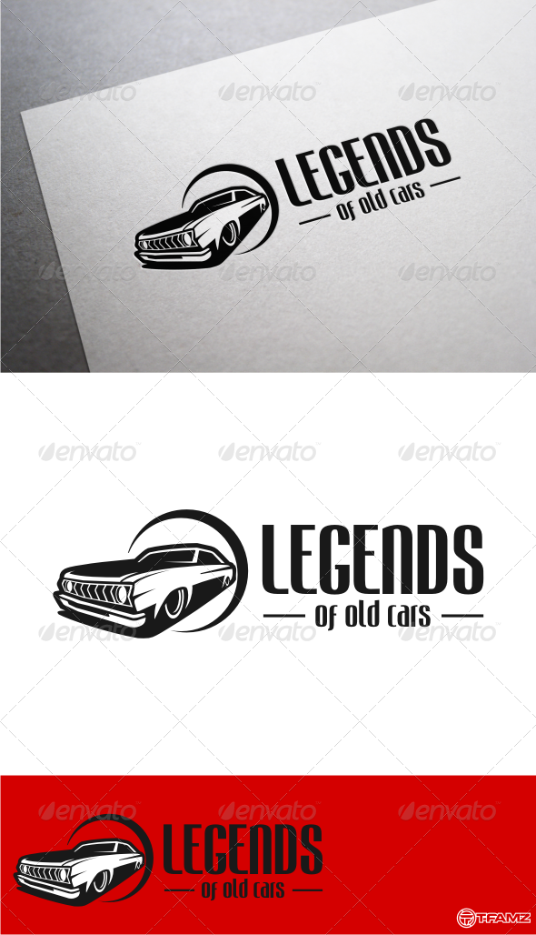 GraphicRiver Legends of Old Cars Logo Templates 4892084