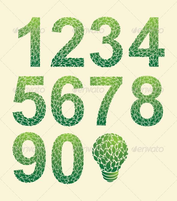 GraphicRiver Leaf Number 4892103