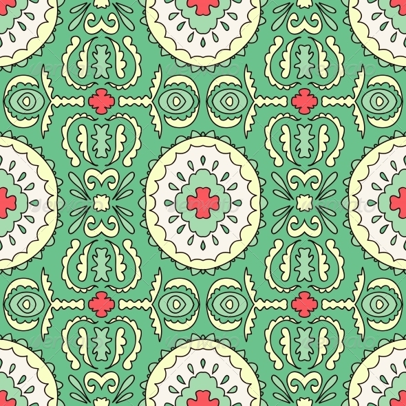 GraphicRiver Geometric Pattern for Printing 4892223