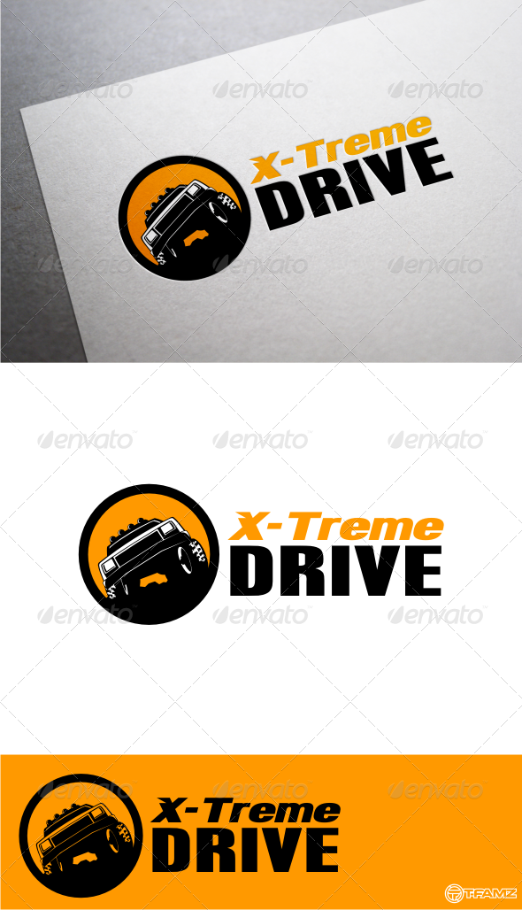 GraphicRiver x-treme drive logo templates 4800558