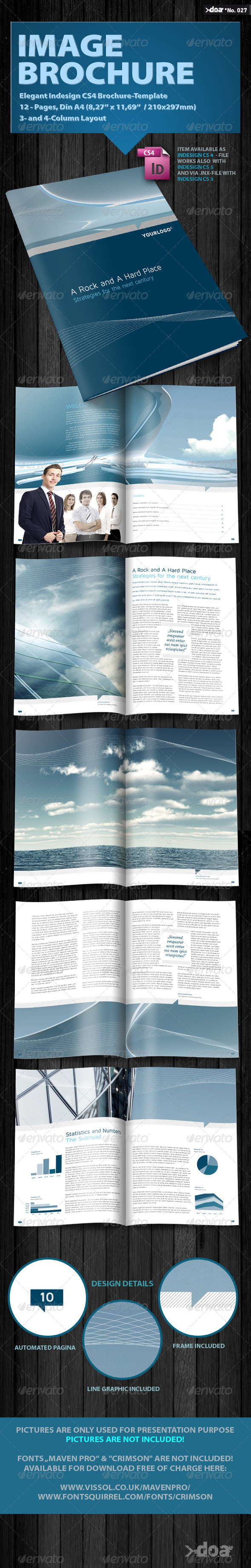 GraphicRiver Elegant Image Brochure 506117