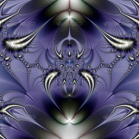 Purple Ornament - Stock Photo - Images