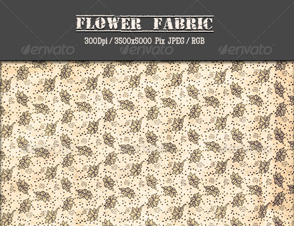 Flower Fabric 9 - Fabric Textures