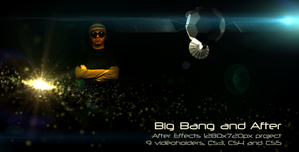 VideoHive After Effects Project - Big Bang and After 500999