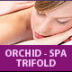 Spa and Massage Business Trifold Brochure - GraphicRiver Item for Sale