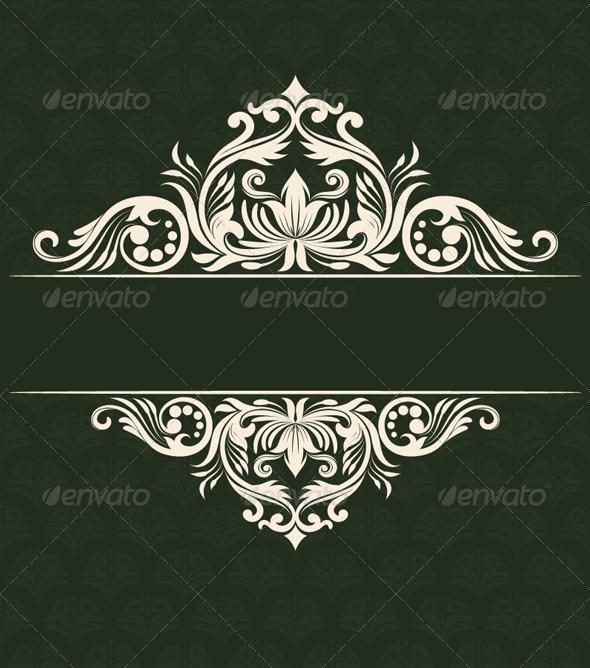 GraphicRiver Invitations Ornament 4876000