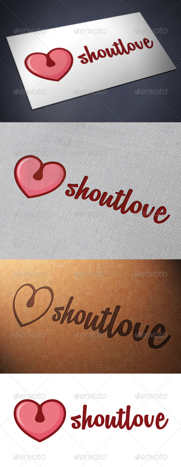 Shout Logo Template
