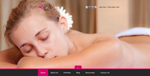 SPA SALON - Creative WordPress CMS Theme - Health & Beauty Retail