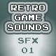 Retro Game Sounds SFX 01 - AudioJungle Item for Sale