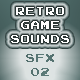 Retro Game Sounds SFX 02 - AudioJungle Item for Sale