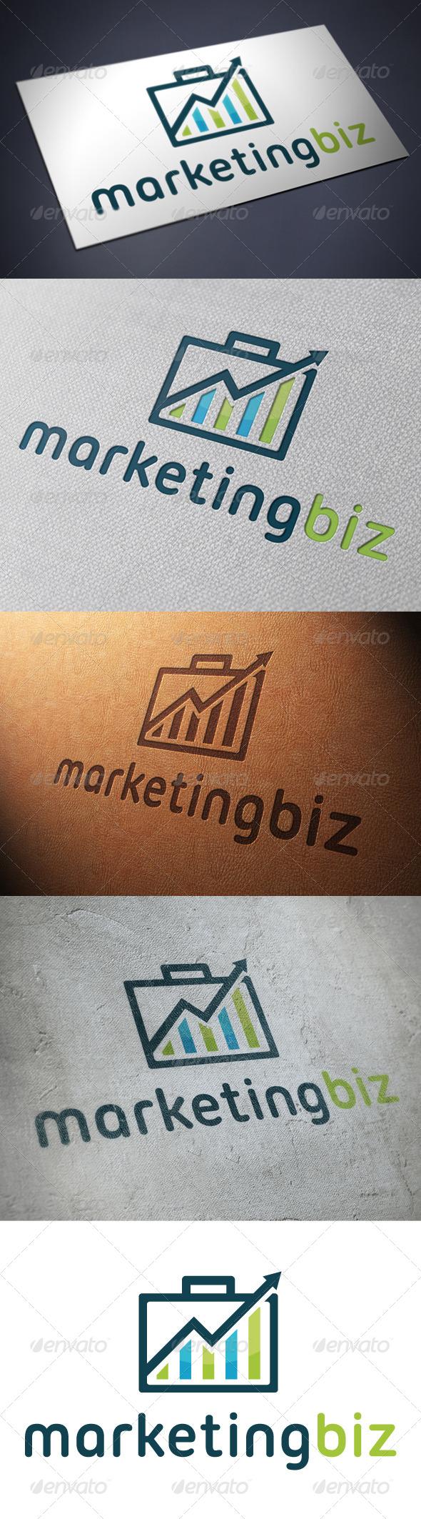 GraphicRiver Marketing Business Logo Template 4898689