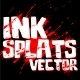 Ink Splats Vector - GraphicRiver Item for Sale