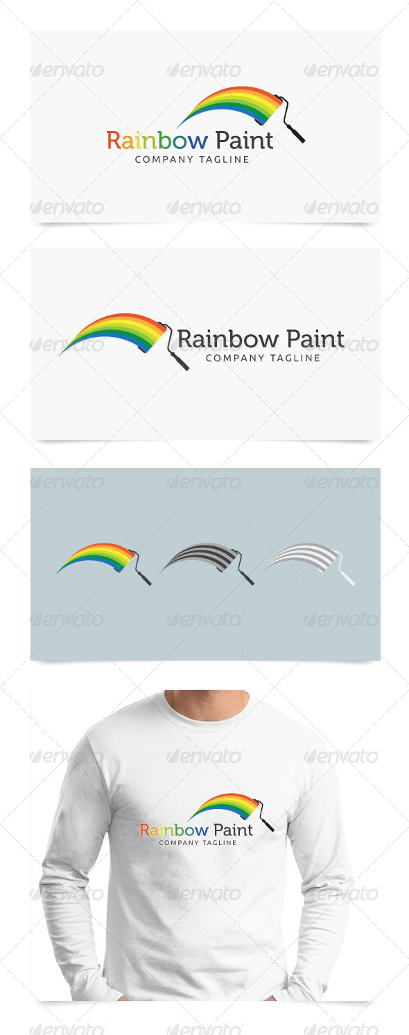 GraphicRiver Rainbow Paint 4832312