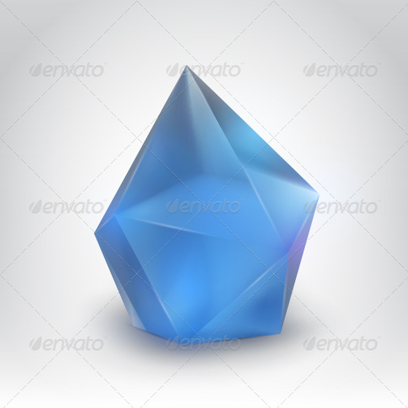 GraphicRiver Blue Crystal 4899619