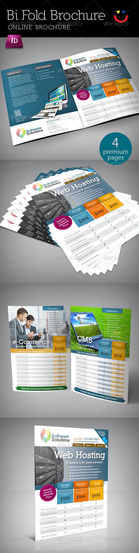 GraphicRiver A4 Bi fold Internet Brochure 4822548